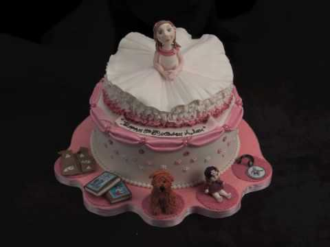 Ballerina Birthday Cake YouTube
