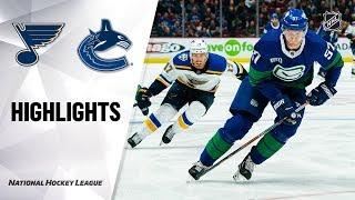 NHL Highlights | Blues @ Canucks 11/05/19