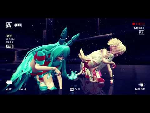 {MMD} [FNAF] Monster Meg And Dia (Dot Exe) Remix