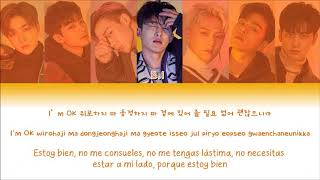 iKON (아이콘) - I'M OK - 가사 (Sub español + Rom + Han + Lyrics + Colorcodedlyrics)