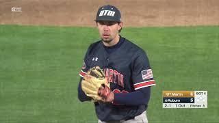 Auburn Baseball vs UT Martin Game 1 Highlights