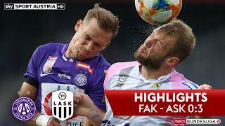 Highlights: tipico Bundesliga, 2. Runde: FK Austria Wien - LASK 0:3