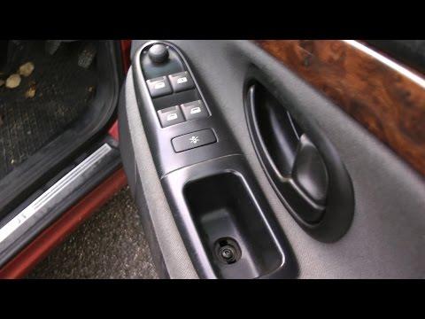 Peugeot citroen window door switch repair
