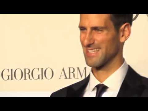 Stars arrival at Novak Djokovic Foundation Gala in Milan