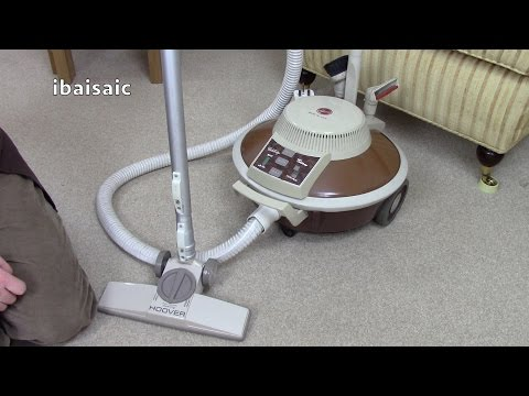 Unboxing a Vintage 1970s Hoover S3001 Celebrity Custom Vacuum Cleaner