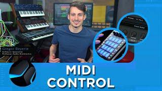 Midi Controllers, Control Link & Focus Mode in Studio One