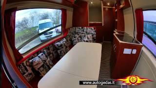 MERCEDES-BENZ Sprinter white Interior full mods to camper