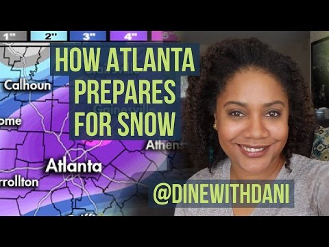 How Atlantans Prepare for Snow... But Not Really