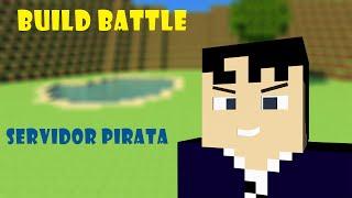 Servidor Pirata Build Battle Minecraft 1.8!!! Server Pirate