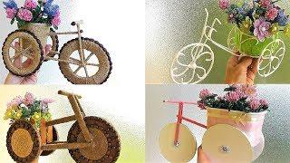 5 Modelos de Bicicletas e Triciclos Ornamentais – Aprenda Passo a Passo