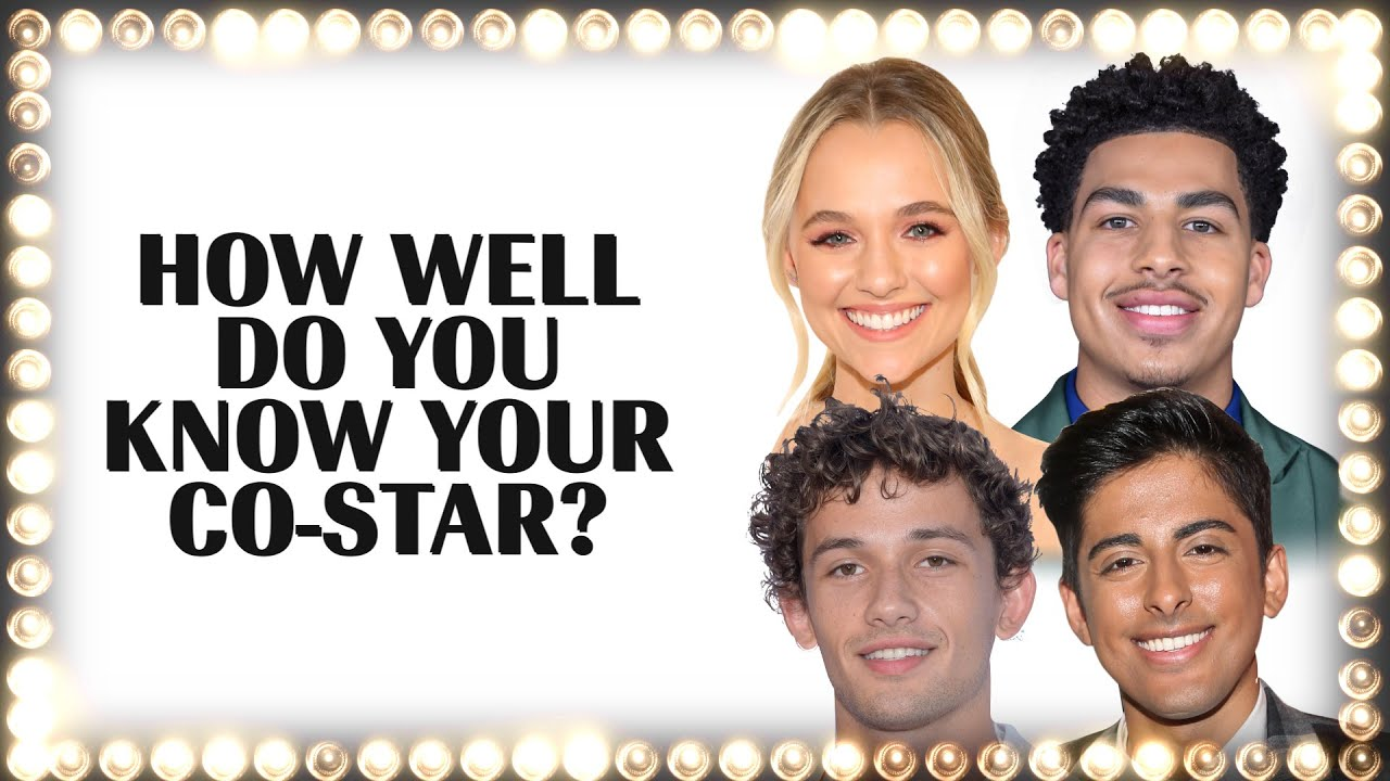 The Cast of 'The F**k-It List' Plays 'How Well Do You Know Your Co-Star?' | Marie Claire