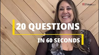 20 Questions with Angela Gervasio