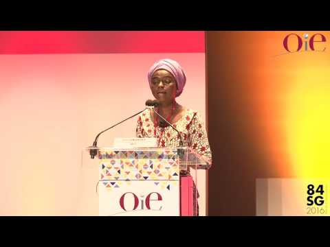 Evelyn NGULEKA, President of World Farmers' Organisation (WFO)