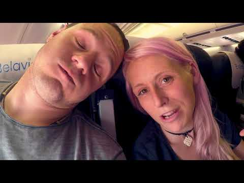 Flying with a baby to Kazakhstan on a budget airline | What were we thinking!