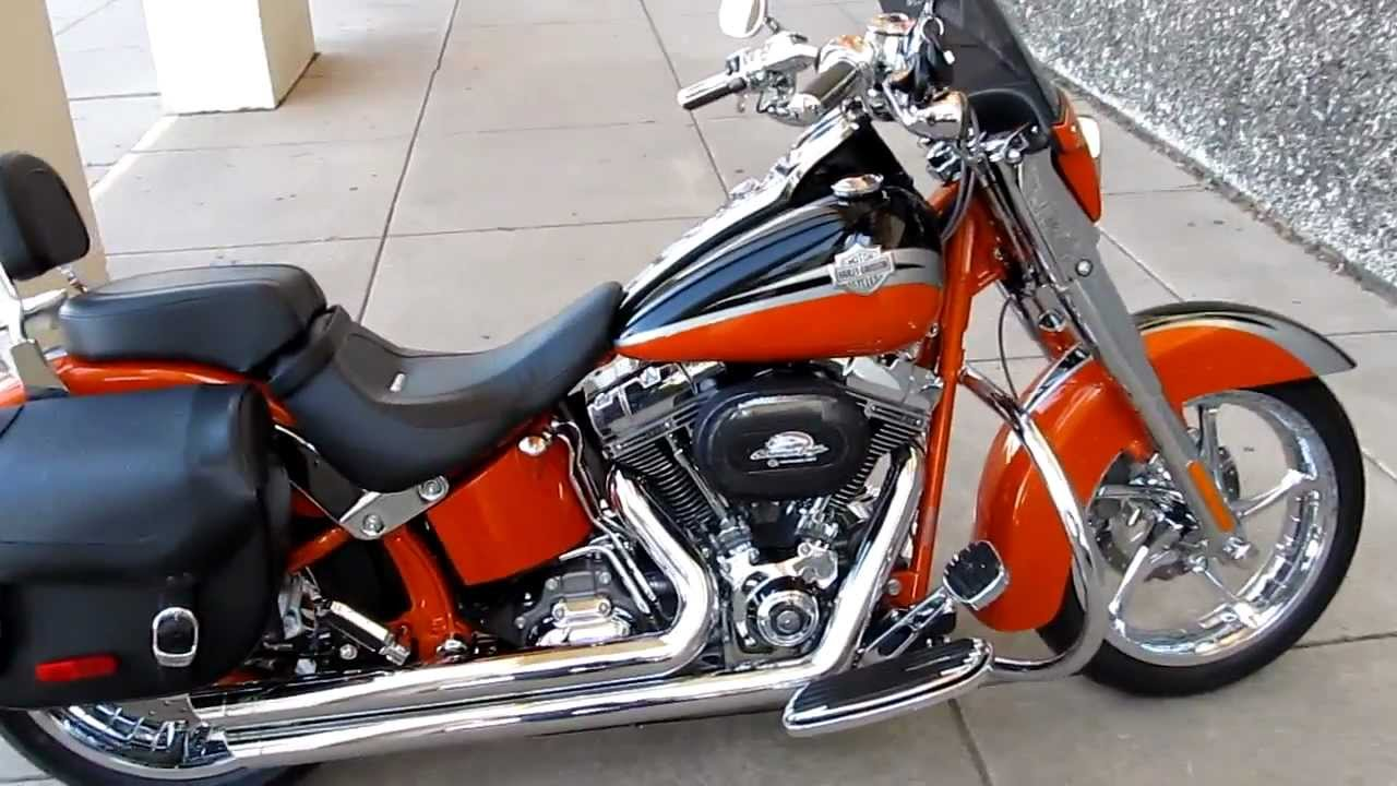Screamin Eagle Flstse Softail 110 Vance Hines Exhaust For You