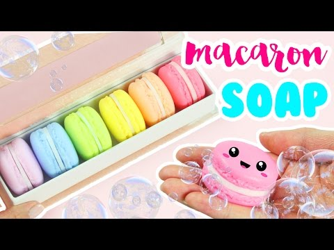 How to Make DIY Macaron Soap!