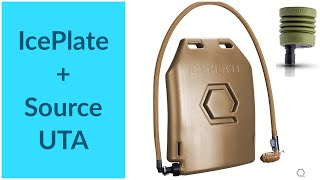 Source Products can be used to refill Qore Performance IcePlate