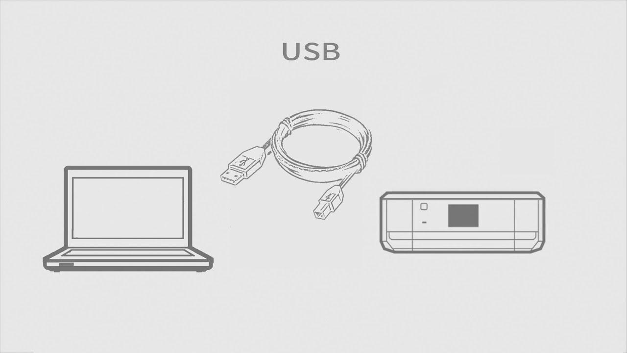 パソコンと接続する (USBケーブル編) (EP-807A,EP-907F,EP-977A3,EP-806A