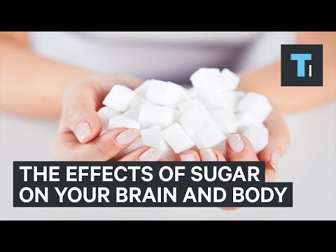 What happens to your body and brain when you eat too much sugar