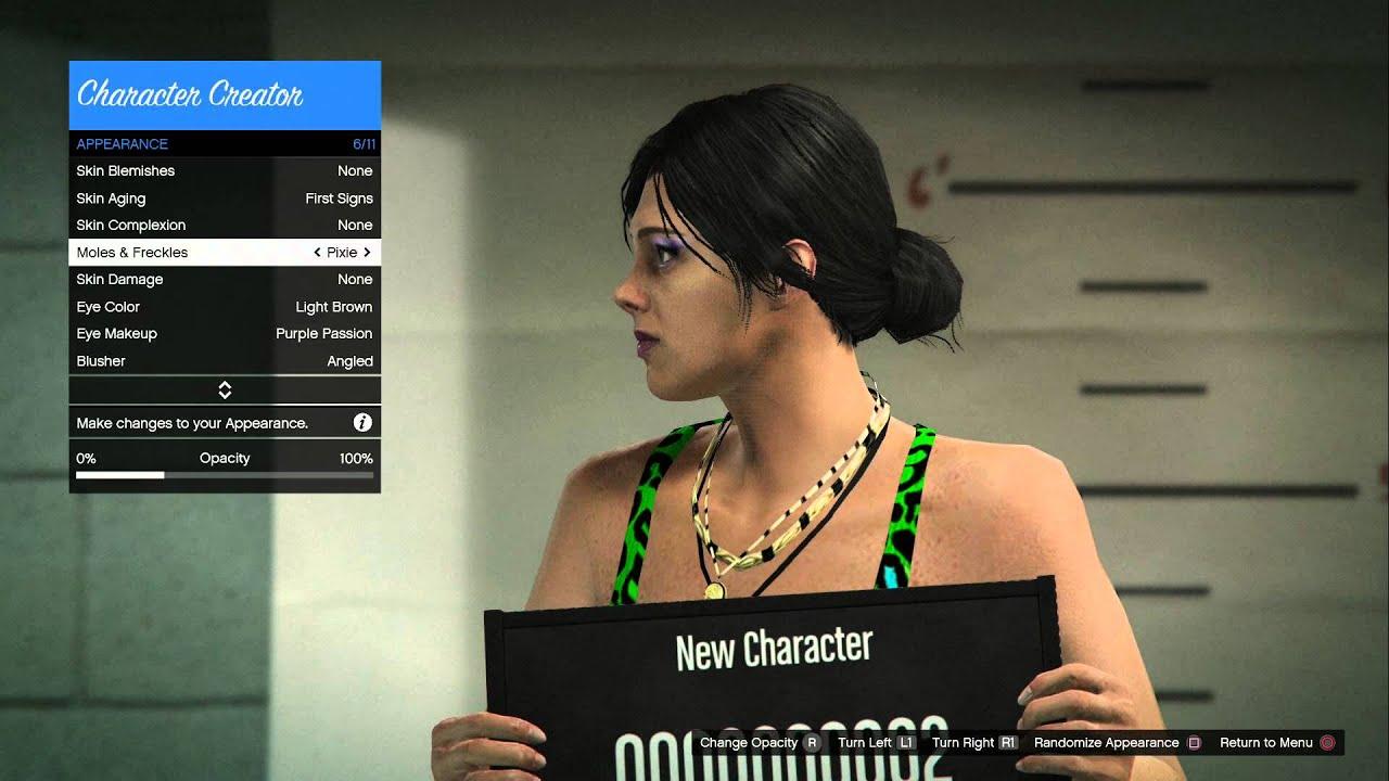 Gta 5 online character female