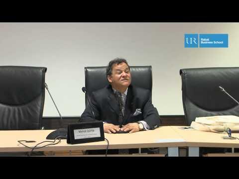 UIR - Conférence Business School « Promotion du patrimoine culturel marocain »avec  Mehdi Qotbi