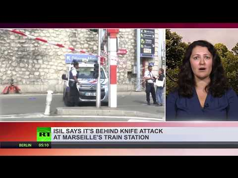 Terrorist attack in France: 2 killed in Marseille train stat