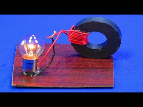 Free Energy Generator Magnet experiment Technology New Idea science Project