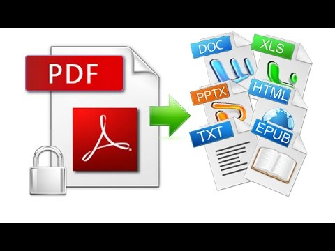 How To Convert Any File To PDF in Windows 10 Tutorial - YouTube - Convert File To Pdf