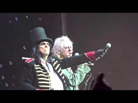 Alice Cooper - Bob Geldof - School's Out - Perth Arena - 17th October 2017 - Australia