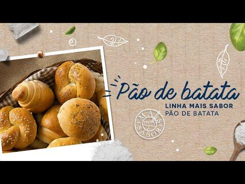 Pão de Batata — Linha Mais Sabor Pão de Batata