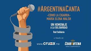 Video: Argentina canta en cuarentena