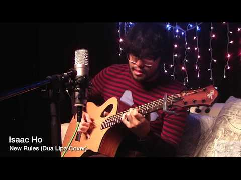 Isaac Ho - New Rules (Dua Lipa Cover) with Michael Kelly Forte Port Natural & Roland VR 4HD