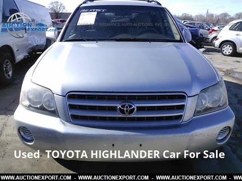 Used Toyota Highlander for sale in USA, Shipping to Cambodia