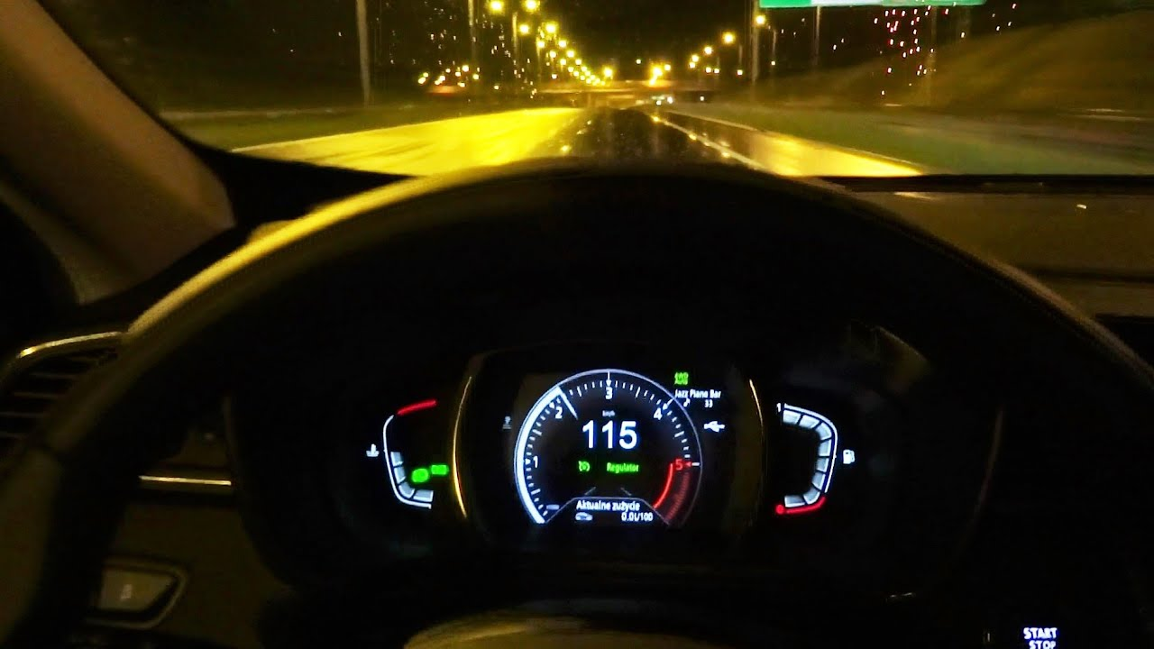 2016 Renault Kadjar BOSE Edition LED Lights Night Test Drive [PL] Pomiar Spalania Jazda Testowa PL