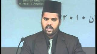 Nazm: Wo aya jis kay muntazir thay din raat (Jalsa Salana Qadian 2010)