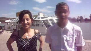 Interview du traiteur de la croisière repas à bord du bateau La Billebaude