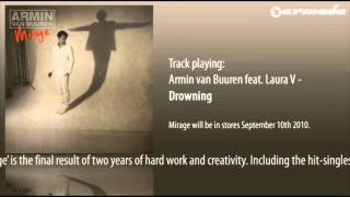 Download Armin van Buuren feat. Laura V - Drowning MP3 song and Music Video