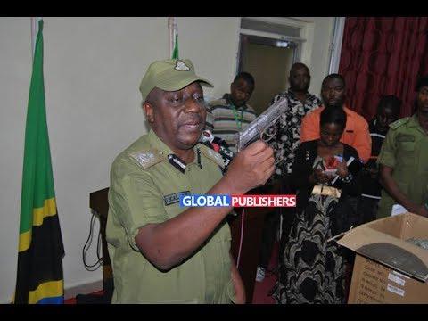 Breaking News: Polisi Dar Waua Watuhumiwa Wawili wa Ujambazi, Mmoja Ajeruhiwa