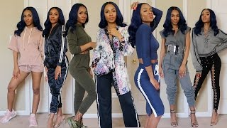 TRY-ON HAUL: ATHLEISURE CHIC (Fashion Nova, Daya By Zendaya, Adidas & More) ▸ VICKYLOGAN