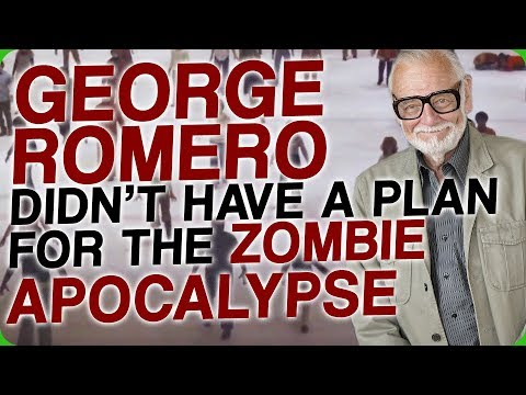 George Romero Didn't Have a Plan for a Zombie Apocalypse