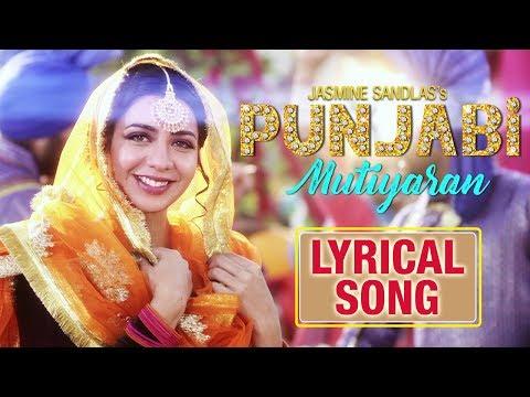 Punjabi Mutiyaran | Lyrical Song | Jasmine Sandlas | New Punjabi Songs 2018 | Yellow Music