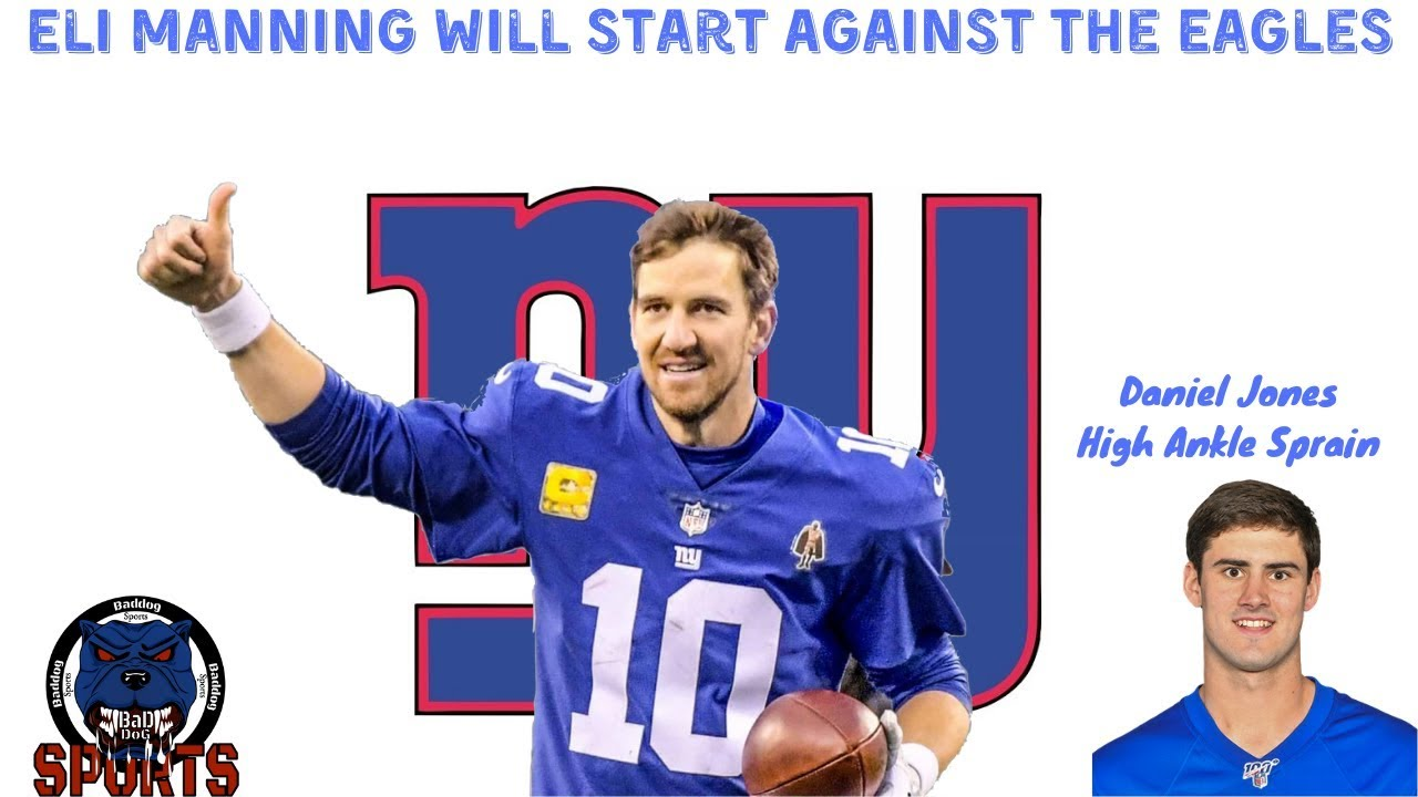 Eli Manning 'very likely' will get one last hurrah with the Giants