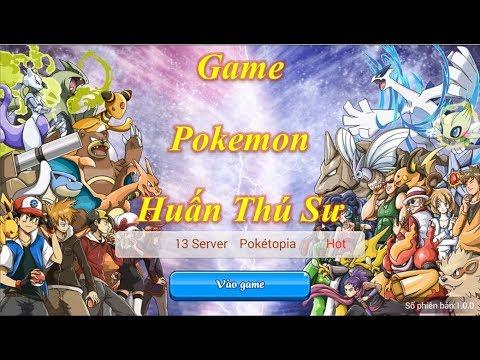 Trải Nghiệm Game Pokemon - Huấn Luyện Thú Sư