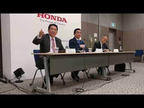 Meeting Mr. Takahiro Hachigo, CEO & President Honda Motor Co. in Tokyo