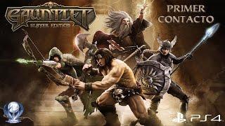 Primer Contacto: Gauntlet Slayer Edition (Gameplay en Español, Ps4 1080p/60fps)