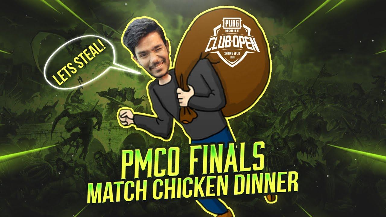 PMCO 2020 Finals Sanhok Winner Winner Chicken Dinner; 322 Damage 7 kills! The art of Stealing kills.
