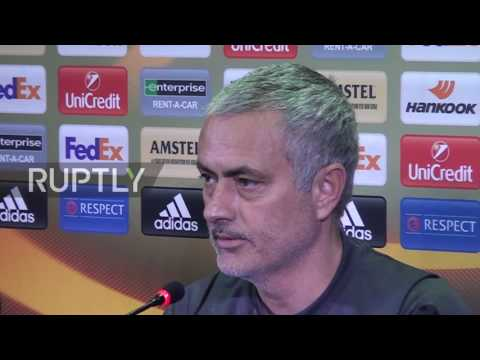 Russia: Man Utd's Mourinho hits out at state of Rostov's football pitch