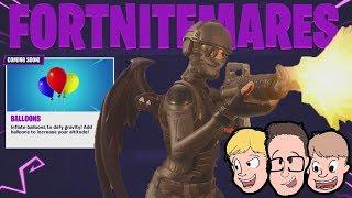 FORTNITEMARES! Fortnite New Skins & Guns Season 6 Theme Battle Pass Event Update | Live 2018