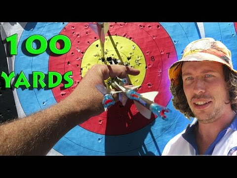 100 yards compound bow archery competition