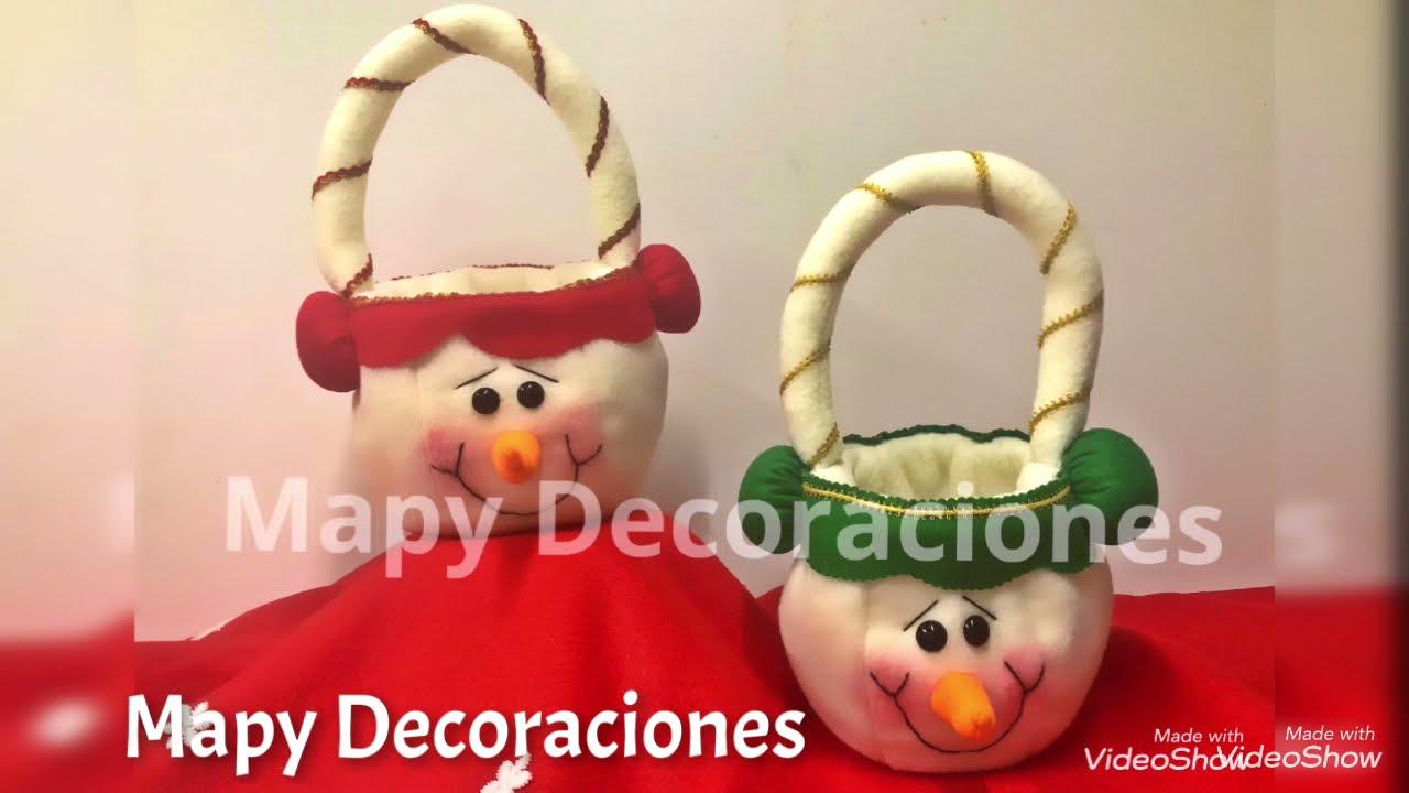 Bolsa Navideña   Mapy Decoraciones